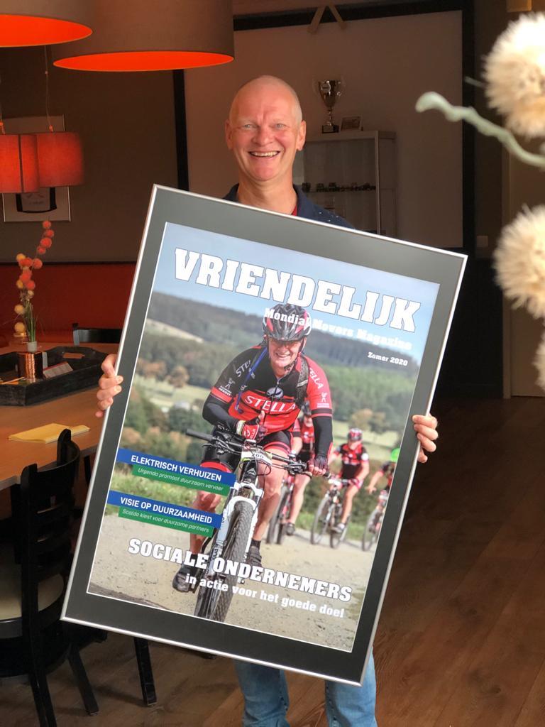 Duchenne Hero Wim trapt Duchenne de wereld uit 01