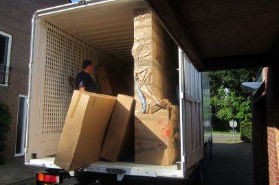 container verhuiswagen